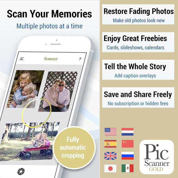 How to scan photos? Try Pic Scanner Gold app  - Blog of Pic Scanner